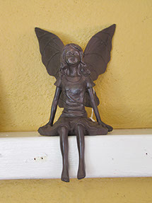sculptured angel