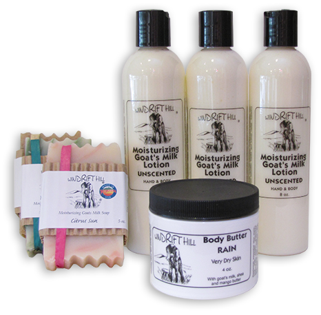 Windrift soap makers products